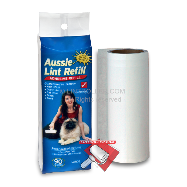 Aussie Lint Roller Refill - Large